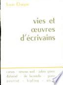 Vies Et Oeuvres D  Ecrivains