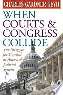 When Courts and Congress Collide