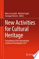 New Activities For Cultural Heritage : that was held in cassino,...