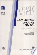 Law, Justice and the State