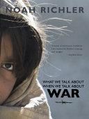 Parlez moi de Guerre