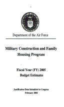 Military Construction Appropriations for 2004