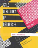 Gale Directory of Databases  2004
