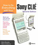 How to Do Everything with Your Sony CLIÉ