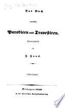 Das Buch deutscher Parodieen und Travestieen