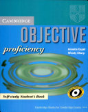Objective proficiency    new for december 2002 exam specifications    1   Self study student s book
