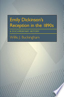 Emily Dickinson   s Reception in the 1890s