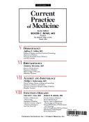Current Practice of Medicine