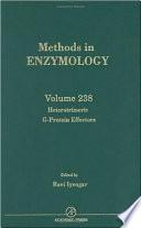 Heterotrimeric G Protein Effectors book