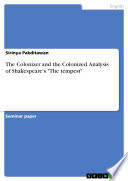 The Colonizer and the Colonized  Analysis of Shakespeare s  The tempest