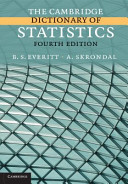 The Cambridge Dictionary of Statistics