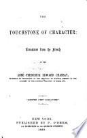 The Touchstone of Character  Translated from the French   The Editor s Preface Signed  J  A  Mc M