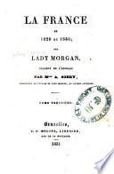 La France en 1829 et 1830
