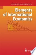 Elements of International Economics