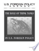 The Role Of Think Tanks In U S Foreign Policy