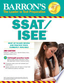 Barron s SSAT ISEE  3rd edition