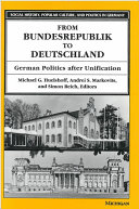 From Bundesrepublik to Deutschland