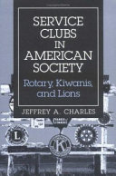 Service Clubs in American Society