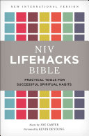 NIV  Lifehacks Bible  Hardcover