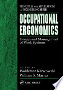 Occupational Ergonomics