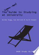 The Stress Free Guide to Studying at University