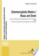 Zimmerspiele Mainz  Haus am Dom