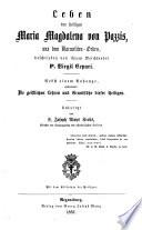 Leben der heiligen Maria Magdalena von Pazzis