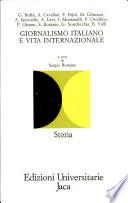 Giornalismo italiano e vita internazionale
