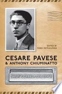 Cesare Pavese and Anthony Chiuminatto