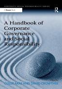 download ebook a handbook of corporate governance and social responsibility pdf epub