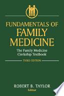 Fundamentals of Family Medicine