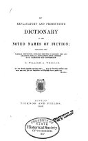 download ebook an explanatory and pronouncing dictionary of the noted names of fiction pdf epub
