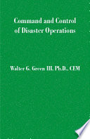 Command And Control Of Disaster Operations