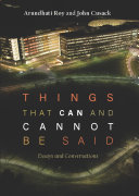 download ebook things that can and cannot be said pdf epub