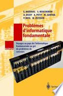 illustration du livre Problèmes d'informatique fondamentale