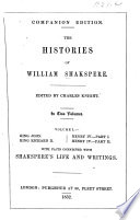 The Histories of William Shakspere