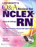 Lippincott s Qamp A for NCLEX RN Tenth Edition   Lippincott s Content Review for NCLEX RN