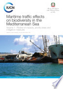 Maritime Traffic Effects on Biodiversity in the Mediterranean Sea