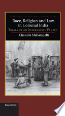 Race  Religion and Law in Colonial India