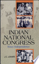 Indian National Congress Since Independence