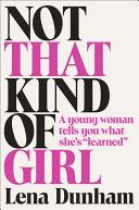 download ebook not that kind of girl pdf epub