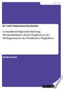Gesundheitsfolgenabschätzung: Myokardinfarkte durch Fluglärm in der Einflugschneise des Frankfurter Flughafens