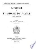 Catalogues de la Bibliotheque Imperiale