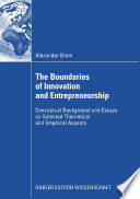 Review The Boundaries of Innovation and Entrepreneurship