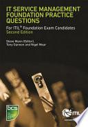 IT Service Management Foundation Practice Questions