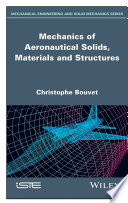 Mechanics of Aeronautical Solids  Materials and Structures