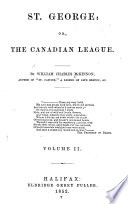 St  George  Or  The Canadian League Book PDF