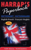 Harrap s Paperback Dictionary  Dictionnaire