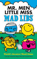 Mr  Men Little Miss Mad Libs