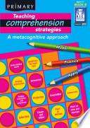 Teaching Comprehension Strategies 6 7 Years